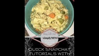 Quick & Easy How to: Chicken Noodle Soup in under 4 minutes