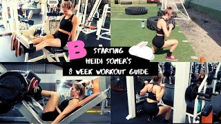 Healthy lifestyle challenge - day 14 | starting heidi somer's 8 week workout guide