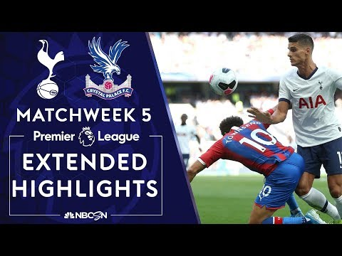 Tottenham Hotspur v. Crystal Palace | PREMIER LEAGUE HIGHLIGHTS | 9/14/19 | NBC Sports