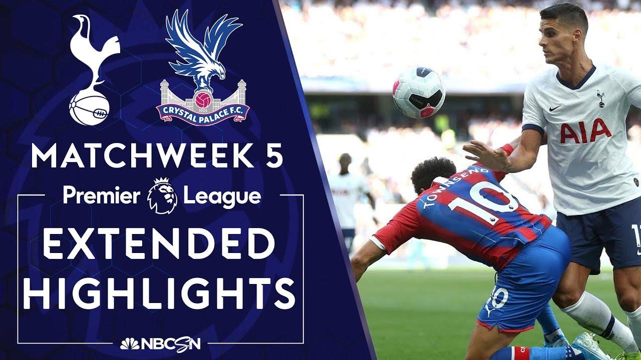 Tottenham Hotspur v. Crystal Palace | PREMIER LEAGUE HIGHLIGHTS | 9/14/19 | NBC Sports