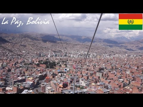 South America: Riding a Cable Car in LA PAZ, BOLIVIA + Wandering in the City