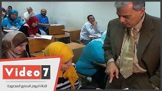 جابر نصار يتفقد امتحانات التعليم المفتوح بجامعة القاهرة