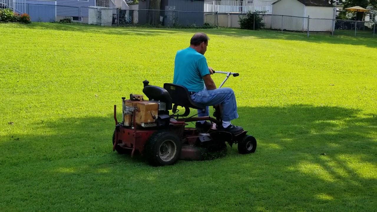 forrest gump lawn mower
