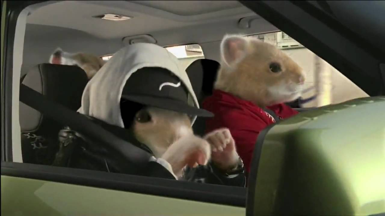 Kia Soul Hamster >> Kia Motors Hamster Rap 2010 Commercial