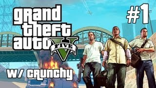 GTA V: Story Mode Playthrough Ep. 1 - Welcome Back!