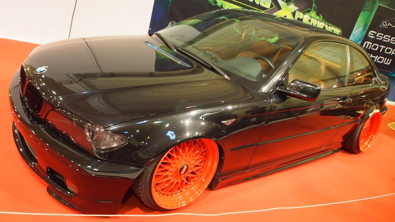 bmw e46 330ci coupe tuning at essen motorshow exterior. Black Bedroom Furniture Sets. Home Design Ideas