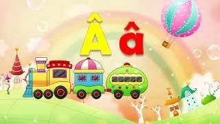 Bé tập nói Tiếng Việt | em học đọc bảng chữ cái abc | nhận biết 29 chữ cái | Dạy trẻ thông minh sớm
