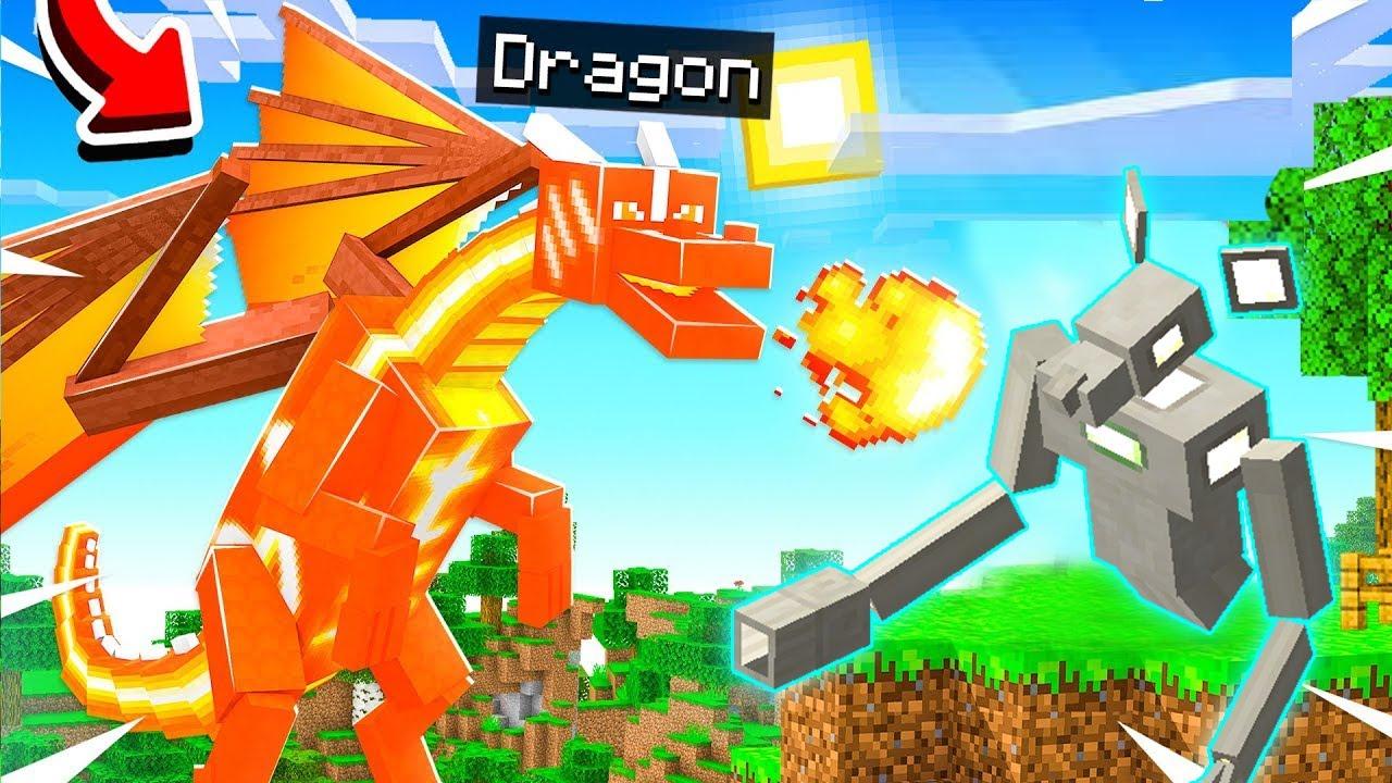 Minecraft Thế Giới Rồng #33 : Chuột Máy Với Sức Mạnh Siêu Vip