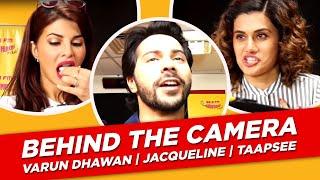 Varun Dhawan behind the camera   Jacqueline   Taapsee   Judwaa 2   Radio Mirchi