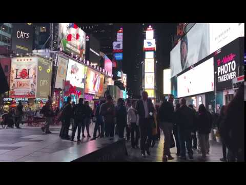 OPC Media | Time Lapse - Times Square, New York City, USA