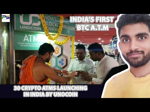 INDIA's First Bitcoin ATM In Bengaluru By Unocoin - PIXELSNAPSHOT