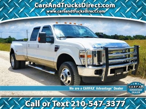 2016 Ford Super Duty >> 2010 Ford F350 Super Duty Dually Lariat Powerstroke Review ...