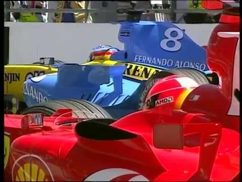 F1 2004 - France GP Highlights (Greek subs)