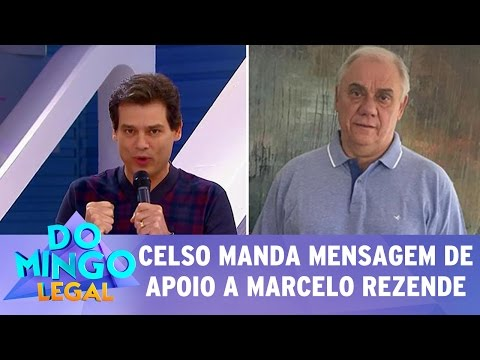 Domingo Legal (21/05/17) - Celso Portiolli manda emocionante mensagem a Marcelo Rezende