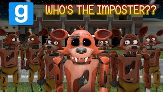 WHO'S THE IMPOSTER?? (FNAF Garry's Mod) || ZANY GMOD Series Premiere!