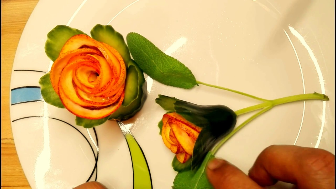 How To Make A Simply Beautiful Orange Flower Full Tutorial