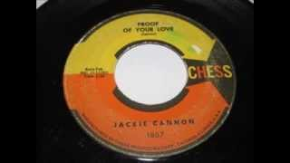jackie cannon   proof of your love