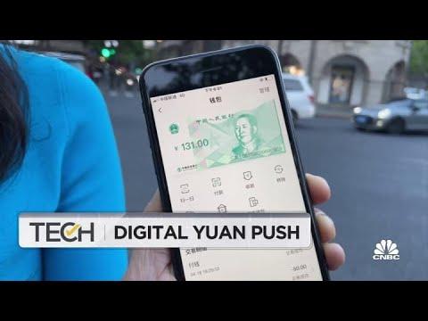 How China's digital yuan works