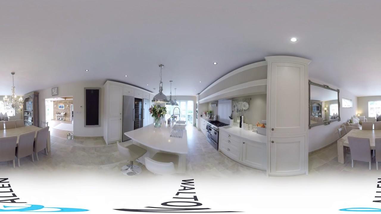 d4c153d50ec Brookland House - Luxury Mansion Home 360 VR Video Tour. Walton   Allen Virtual  Reality