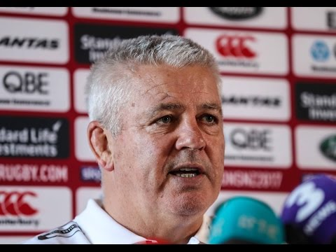 Press Conference: Haskell's experience key for Gatland | Lions NZ 2017