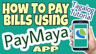 HOW TO PAY BILLS USING PAYMAYA APP || Tagalog Tutorial screenshot 4