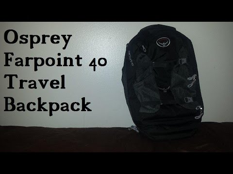 Osprey Farpoint 40 Travel Backpack Review - Airline Approved!