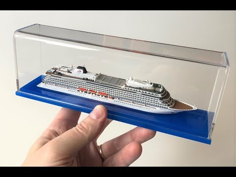 Viking Star - Production of a 1250 scale model for Scherbak Ship Models