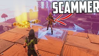 Scammer Obtient SCAMMED pour ses 130 DIGGERS GRAVE! - Fortnite Save The World