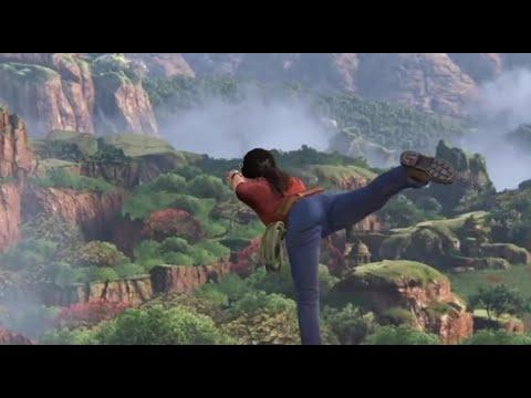 Chloe Frazer Yoga Scene - Uncharted : The Lost Legacy