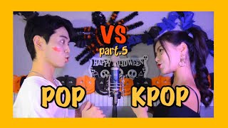 [5탄] Pop VS Kpop / Sing off (feat.BTS,Twice,염따,HONNE,10,000Hours,BÍCH PHƯƠNG ...) Mashup