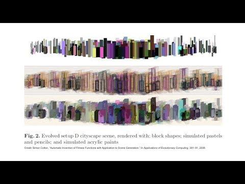 Art that Imitates Art: Computational Creativity and Creative Contracting