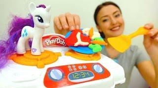 Веселая школа. Видео для детей. Вкусности из плейдо.
