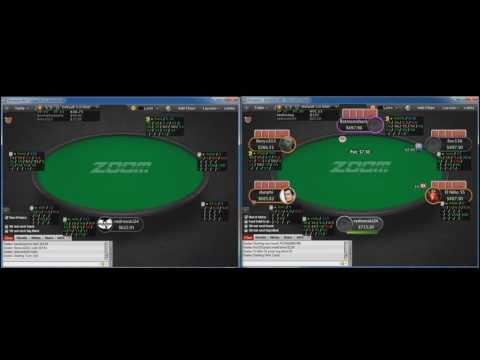 High Stakes Poker Coaching - Pokerstars Pot Limit Omaha Zoom Part 2