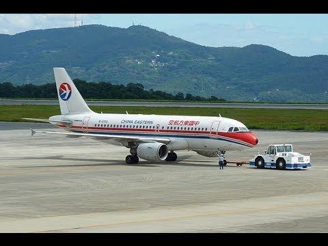 2012/9/16CHINA EASTERN〈Okayama Airport〉