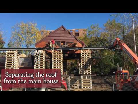 This video tells the story of the November relocation of the Hoyt-Barnum House from 713 Bedford Street to 1508 High Ridge Road.