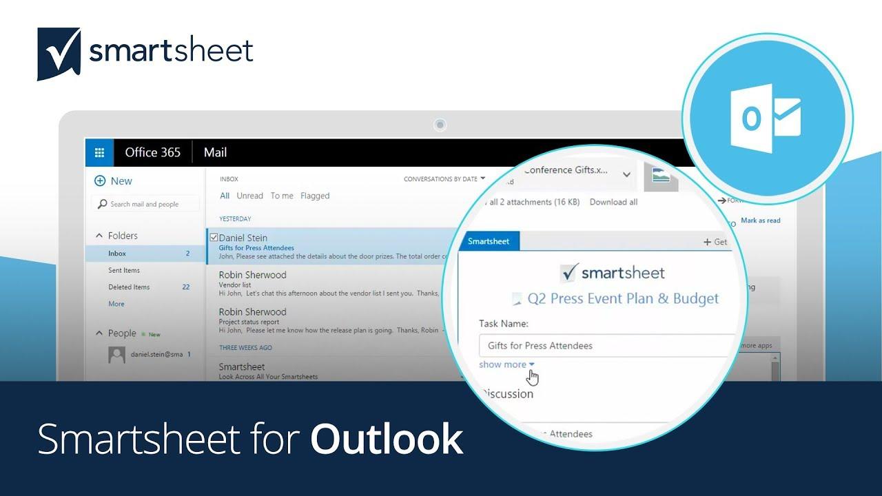Smartsheet for Outlook | Smartsheet
