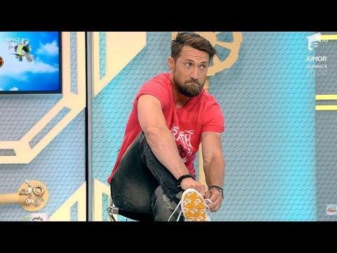 """Dani își etalează noua pereche de teniși: """"Sunt tot mai tânăr"""""""
