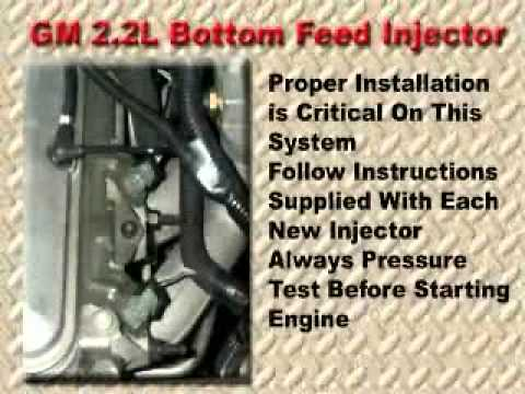 bottom feed injectors