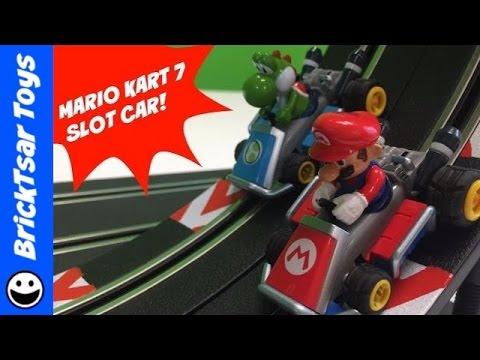Nintendo Mario Kart 7 Carrera Go Looping Slot Car Set Mario & Yoshi