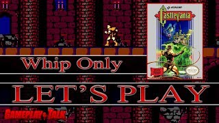 Let's Play Castlevania for the NES - Whip Only Run! [60fps]