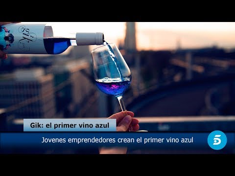 Introducing the World's First Natural Blue Wine