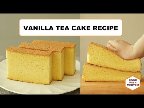 Delicious Vanilla Cake With Nuts (Without Oven) Recipe By (Cook With Meryem)