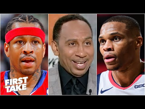 Will Russell Westbrook finish with a better career than Allen Iverson? First Take debates