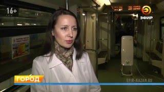 Из-за эпидемии гриппа, кондукторов в общественном транспорте Казани обязали носить медицинские маски