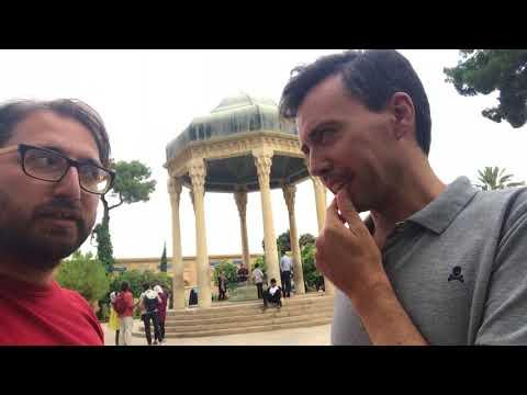 Tamerlane meets poet Hafez in Shiraz, Iran