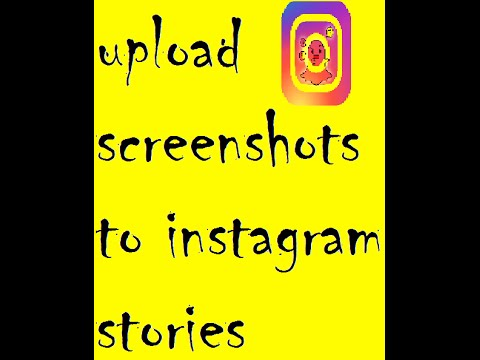 Upload screenshots and older photos to instagram stories youtube upload screenshots and older photos to instagram stories ccuart Image collections
