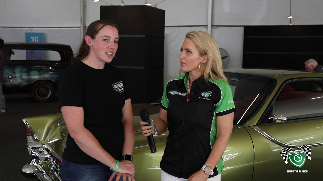 2019 Summernats 32 - New roll for Kylie Perry at Summernats