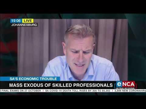 SA's economic trouble   Factors contributing to skills emigration