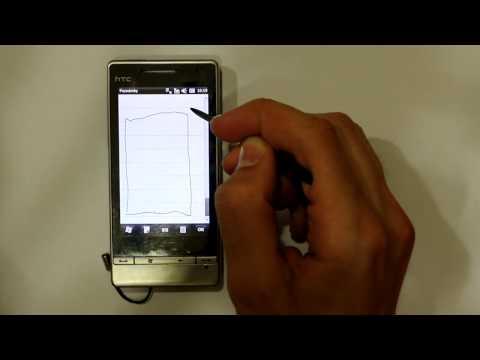 HTC Touch Diamond 2 touch problem