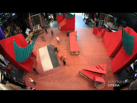 Timelapse: Lucrezia Borgia into Turandot